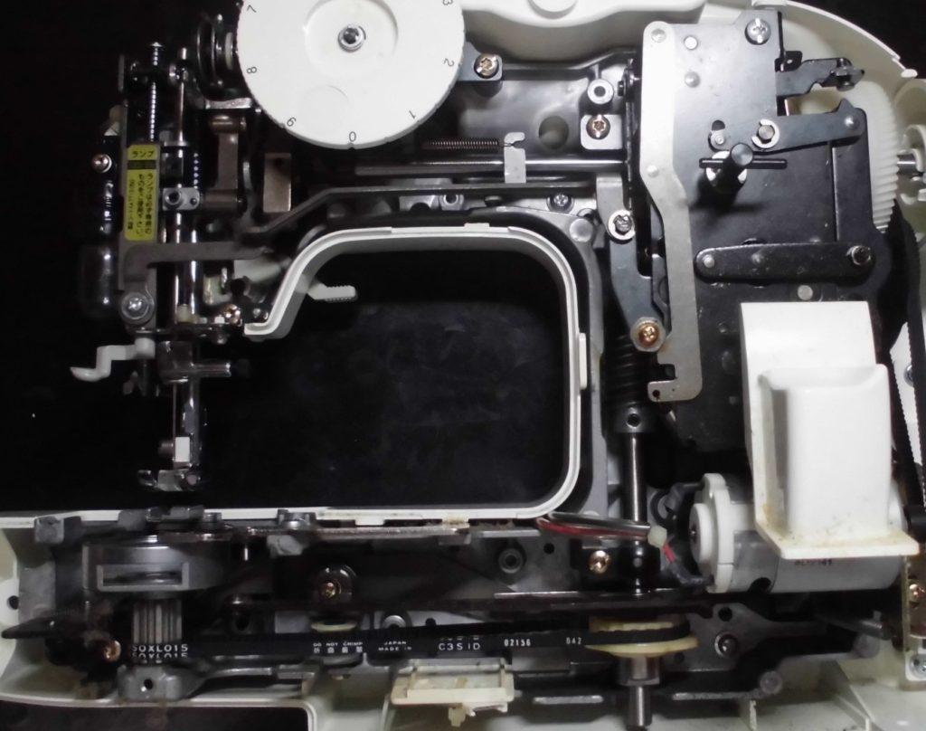 PS-10の分解オーバーホールメンテナンス修理|ブラザーミシン|EL125