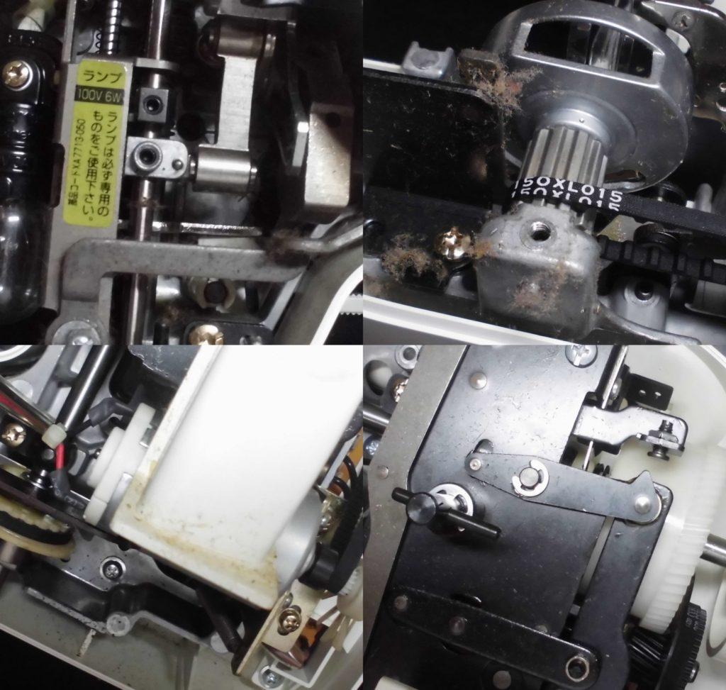 PS-10の故障、不具合|下糸をすくわない、糸が絡む、布が進まない、縫えない