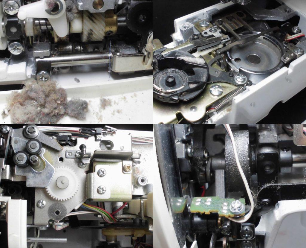 ZZ3-B899の分解オーバーホールメンテナンス修理|サマンサ|ブラザーミシン修理