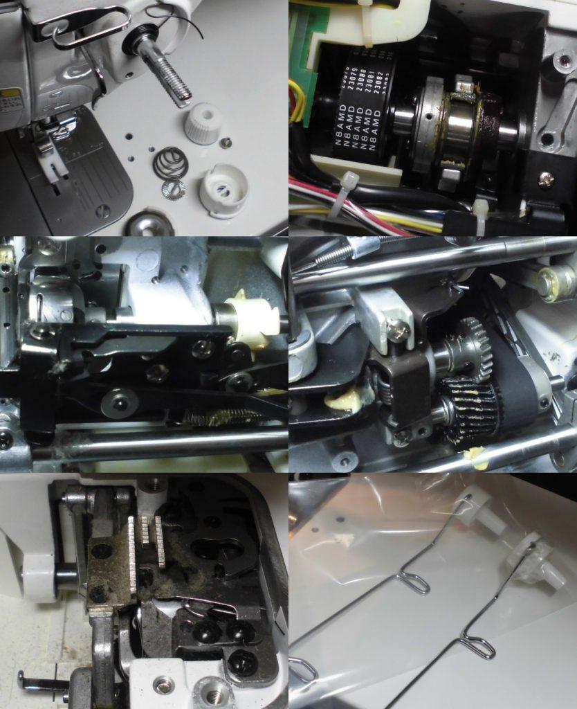 TL-98SPNの分解オーバーホールメンテナンス修理|JUKIミシン修理|SPURシリーズ