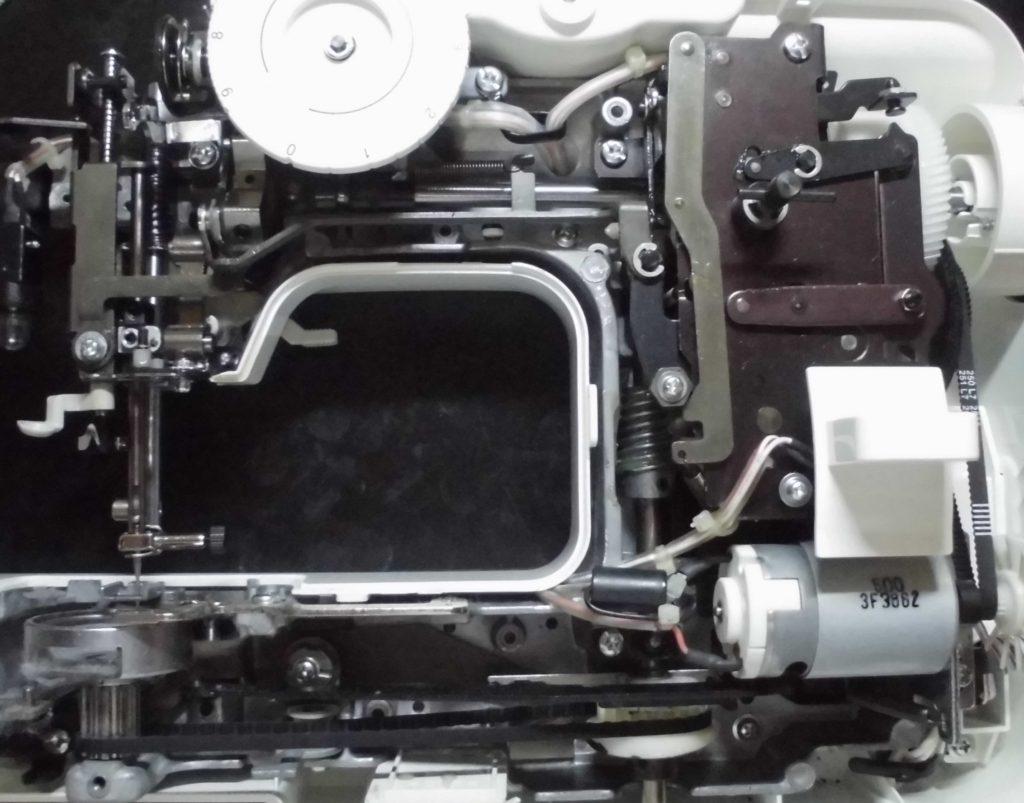 EL117の分解オーバーホールメンテナンス修理 ブラザーミシン修理
