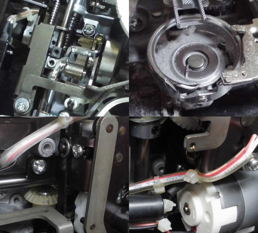 EL117の故障、不具合 針が布に刺さらない、針棒がゆるゆる動く、縫えない