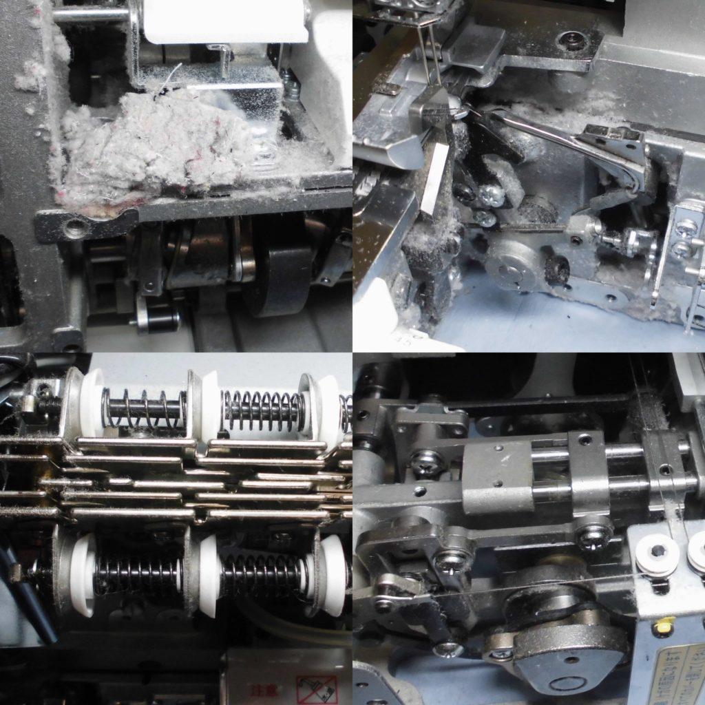 BL660FEXの分解オーバーホールメンテナンス修理 ベビーロックミシン修理