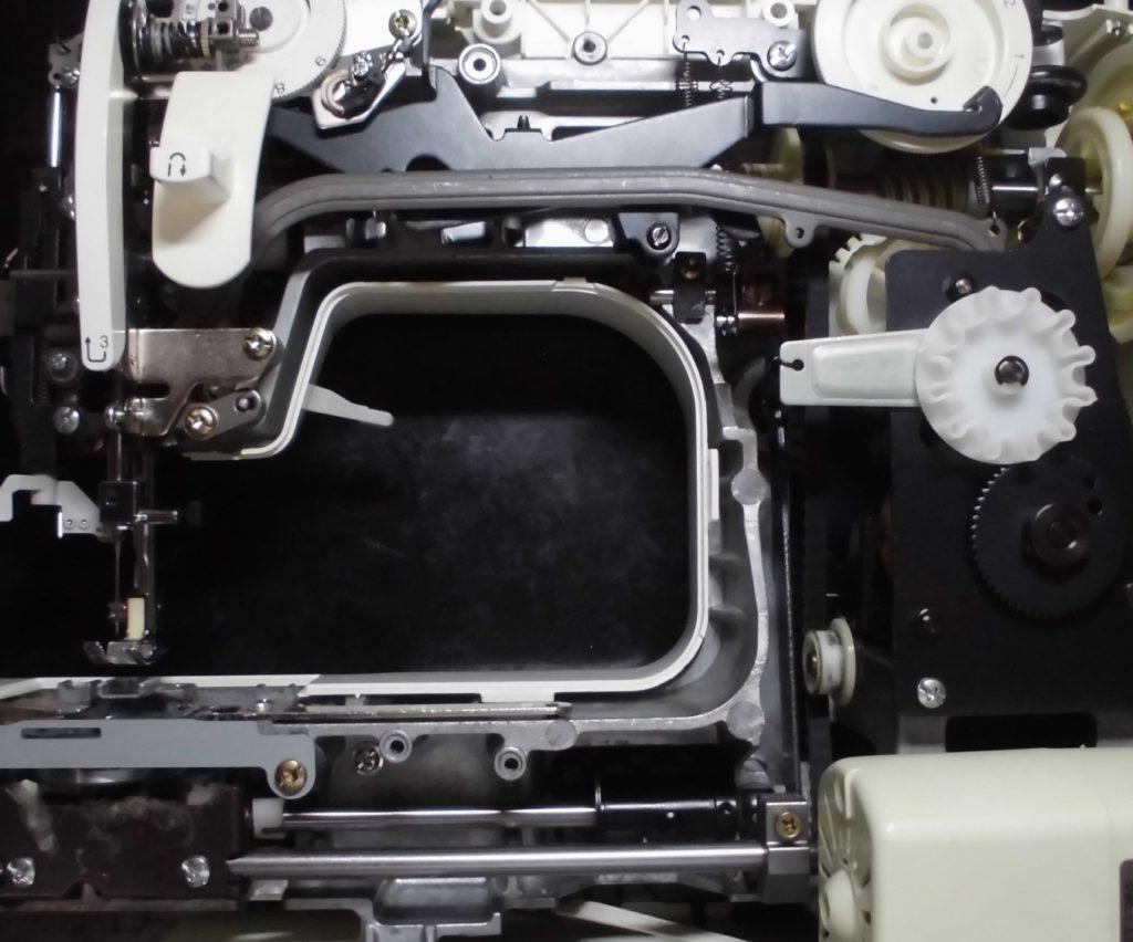EL617の分解オーバーホールメンテナンス修理|ブラザーミシン