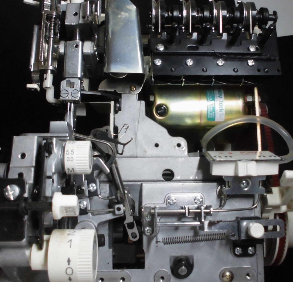 衣縫人BL555の分解オーバーホールメンテナンス修理|ベビーロックミシン