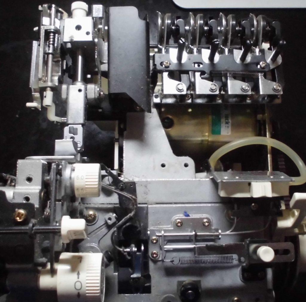 衣縫人BL55の分解オーバーホールメンテナンス修理|ベビーロックミシン