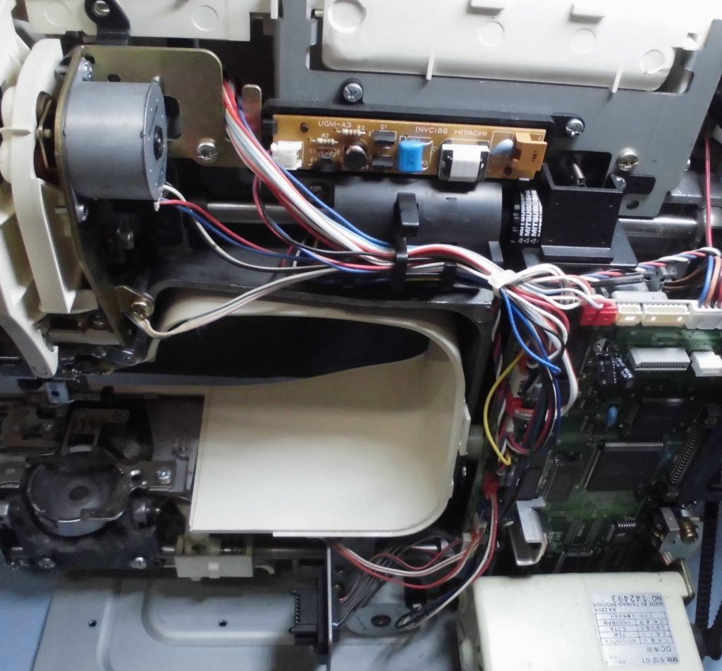 ZZ3-B980の分解オーバーホールメンテナンス修理 M-7000