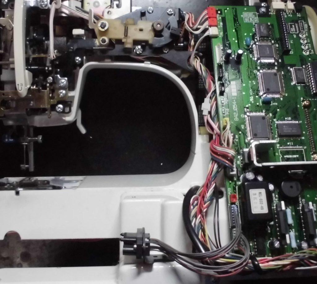 ZZ3-B897の分解オーバーホールメンテナンス修理|brotherミシン修理