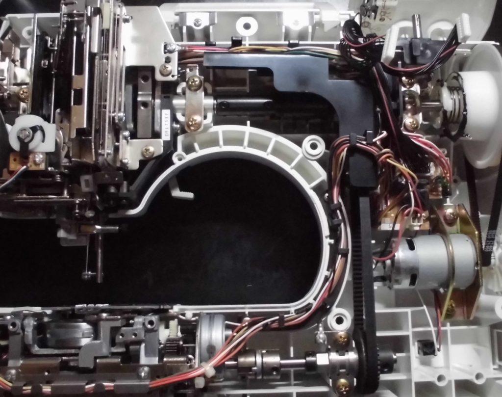 EMS09の分解オーバーホールメンテナンス修理|N80|ブラザーミシン