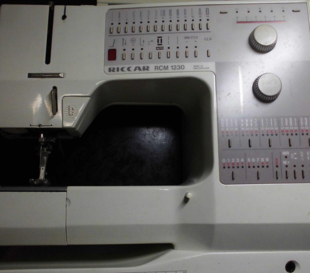 リッカーミシン修理|RCM1230|布が進まない、返し縫いしない、綺麗に縫えない