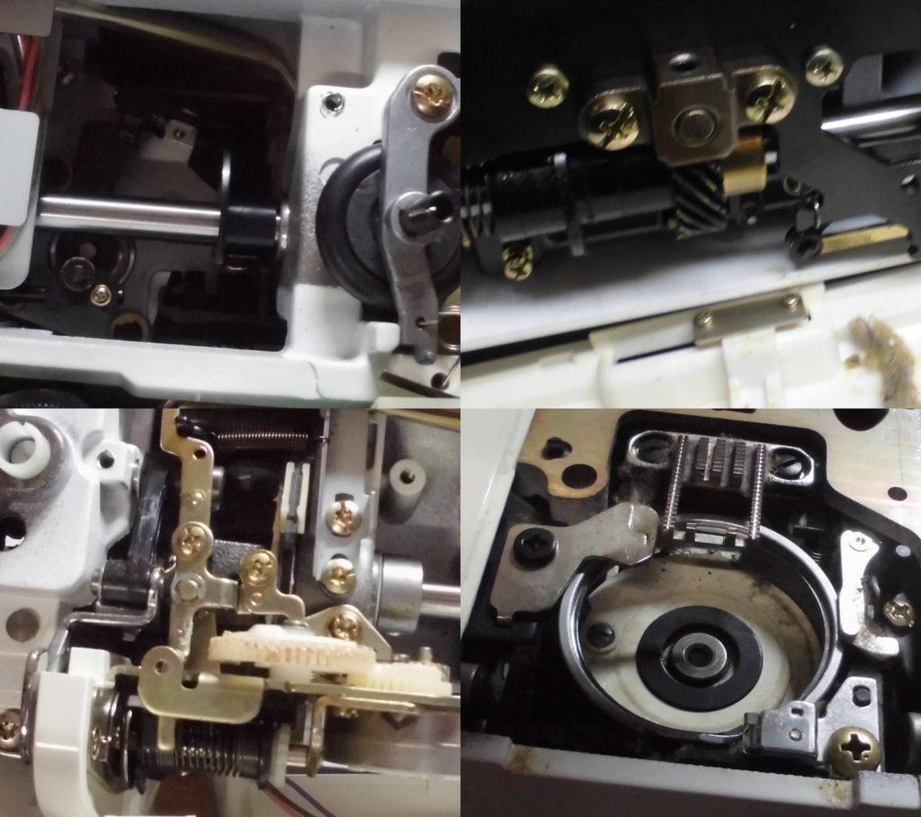 セシオEX3の故障、不具合|布を送らない、縫えない、糸が絡む、電源が入らない