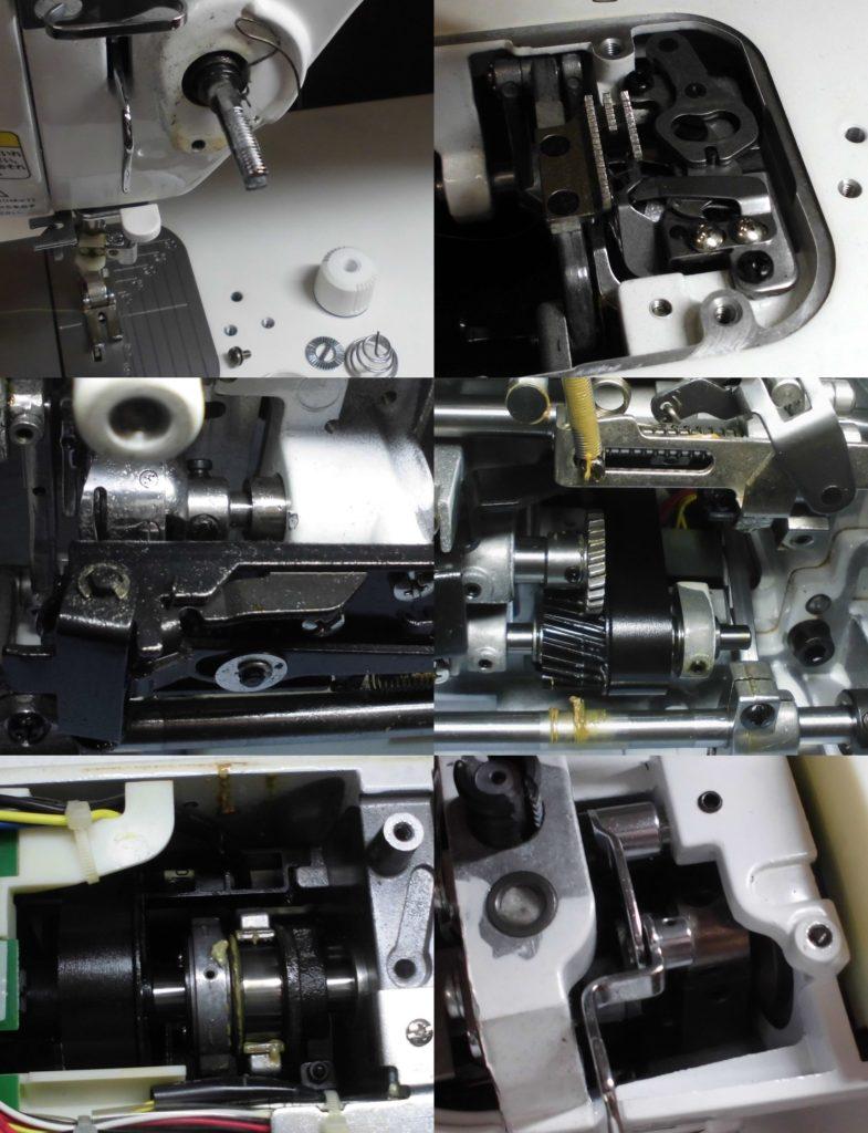 SPUR30の分解オーバーホールメンテナンス修理 JUKI職業用ミシン(TL-30DX)
