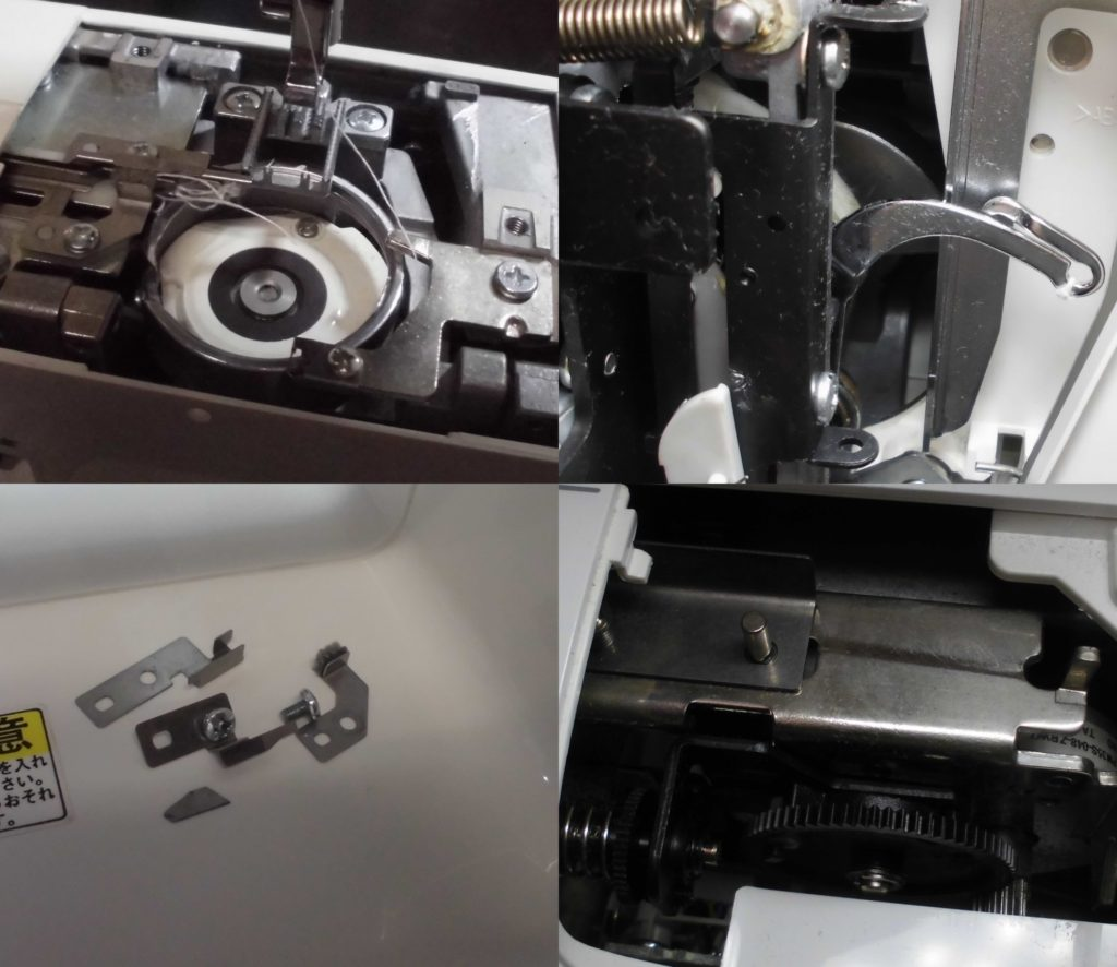 SY-180Eの故障や不具合|糸絡み、自動糸切り不良、糸調子不良、異音