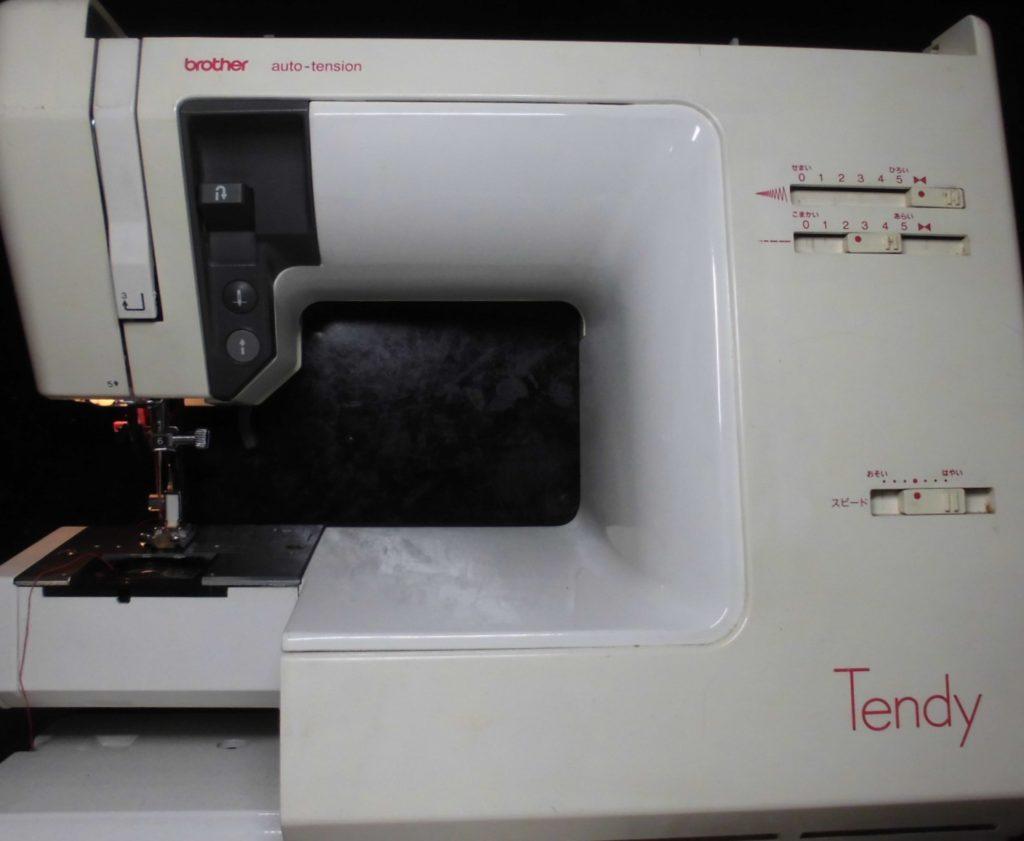 ブラザー電子ミシン修理|ZZ3-B778|TENDY|下糸をすくわず縫えない