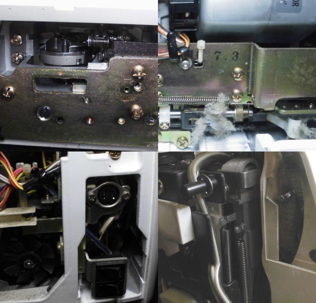 AT-4800の全体メンテナンス修理|ぬいひめ4800|JUKIミシン修理