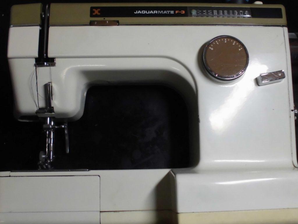 ジャガーミシン(丸善ミシン)|ジャガーメイトF-3|糸絡みが生じ縫えない