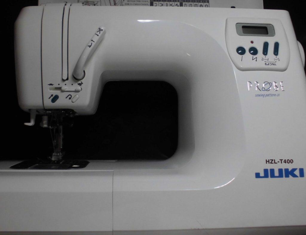 JUKIミシン修理|HZL-T400|PROBE|ミシンの電源が入らない(ミシンが動かない)