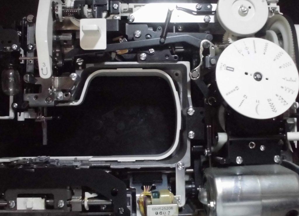 JANOME7200DXの分解オーバーホールメンテナンス修理|ジャノメミシン