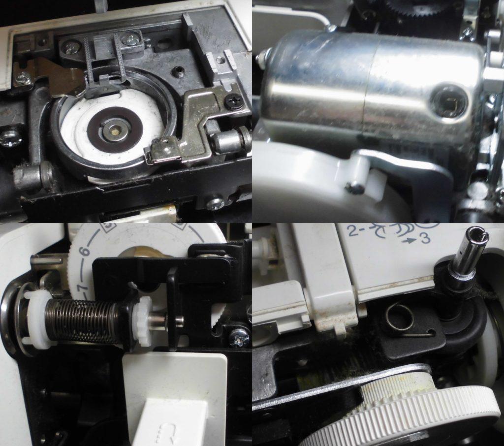 ジャノメ7200DXの故障や不具合|動かない、縫えない、下糸を拾わない、目飛び