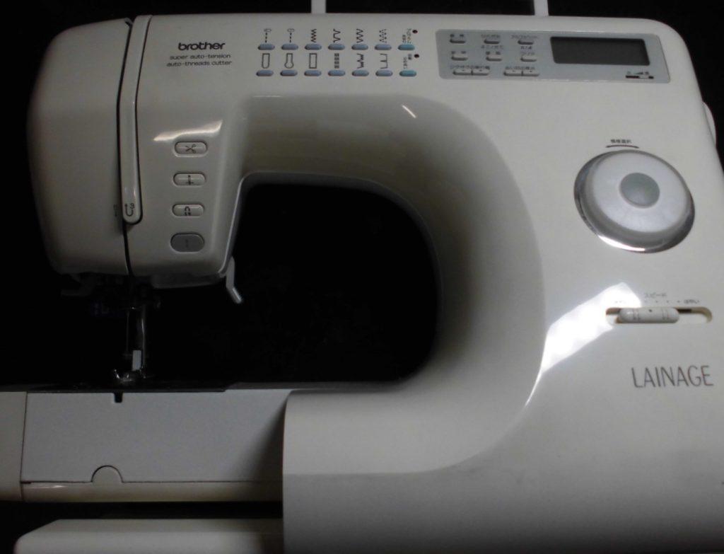 brotherミシン修理|レナージュ(LAINAGE)|ZZ3-B833|スタートボタンが反応しない
