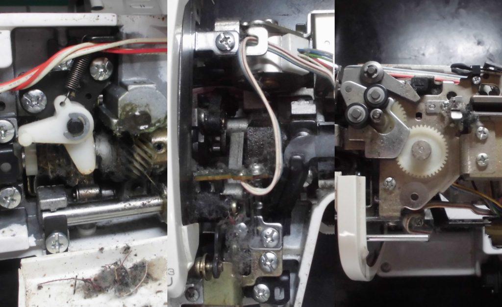 ZZ3-B897の故障、症状|糸絡み、糸が攣る、糸調子不良、自動糸切り不良など