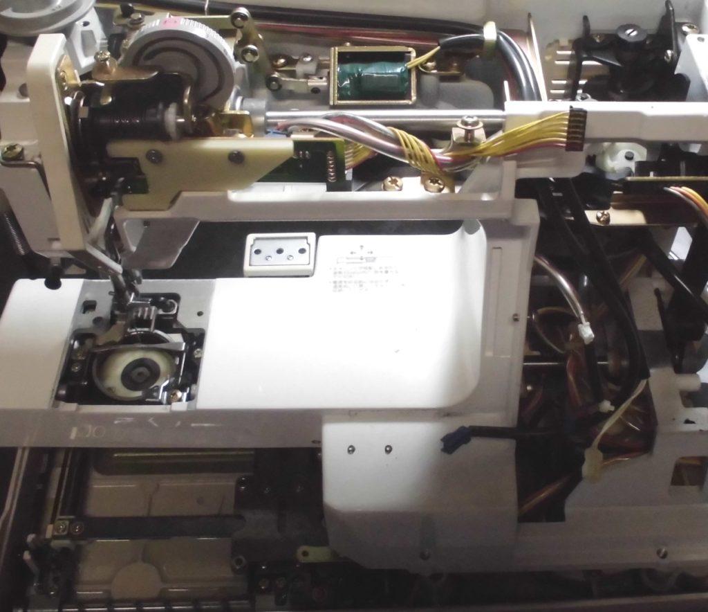 セシオ8200の分解オーバーホールメンテナンス修理 ジャノメミシン