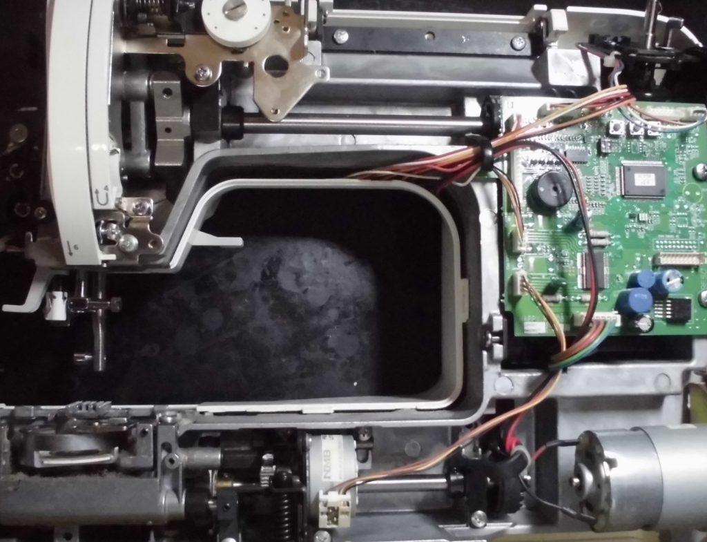 アニュドールSY-102の分解オーバーホールメンテナンス修理|ユザワヤミシン