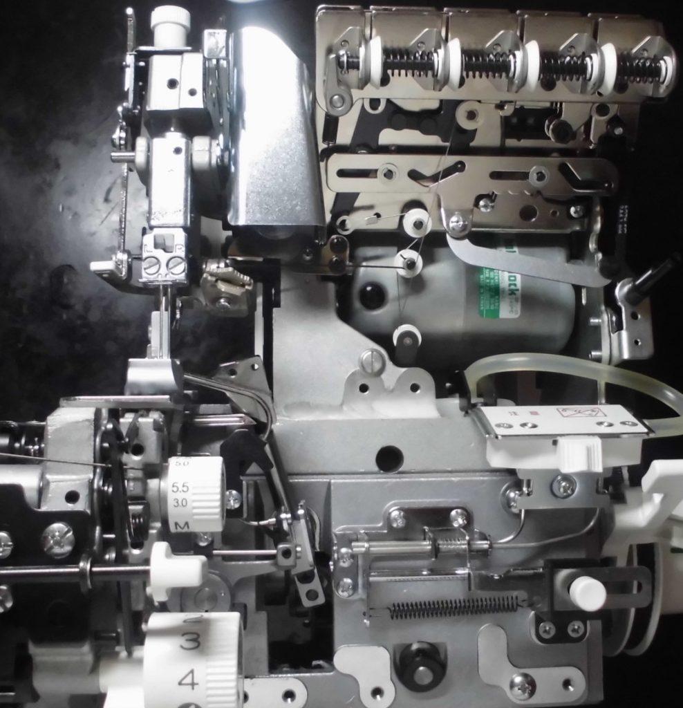糸取物語の分解オーバーホールメンテナンス修理 BL65EXS ベビーロックミシン