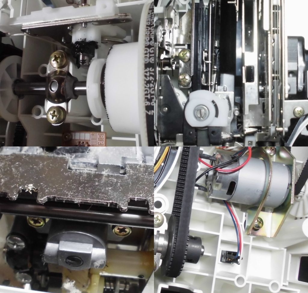 CPS01の故障や不具合 下糸が巻けない、縫えない、布を送らない、糸カセットが入らない