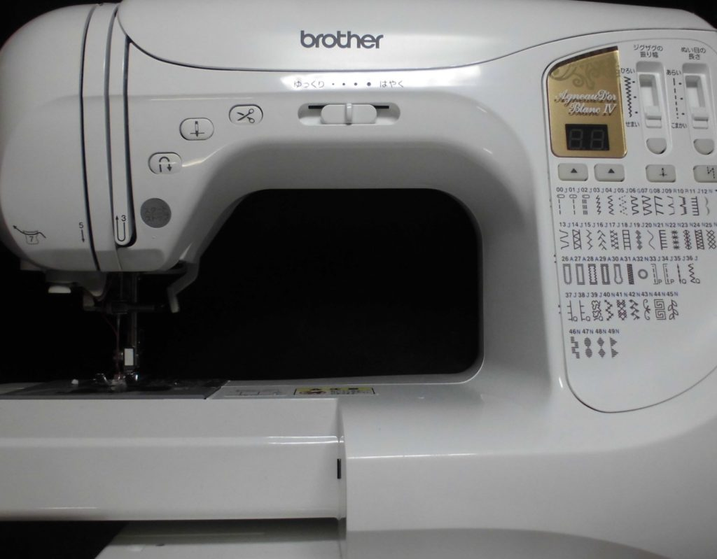 brotherミシン修理 アニュドールブラン4 CPS5801 正常に縫えない