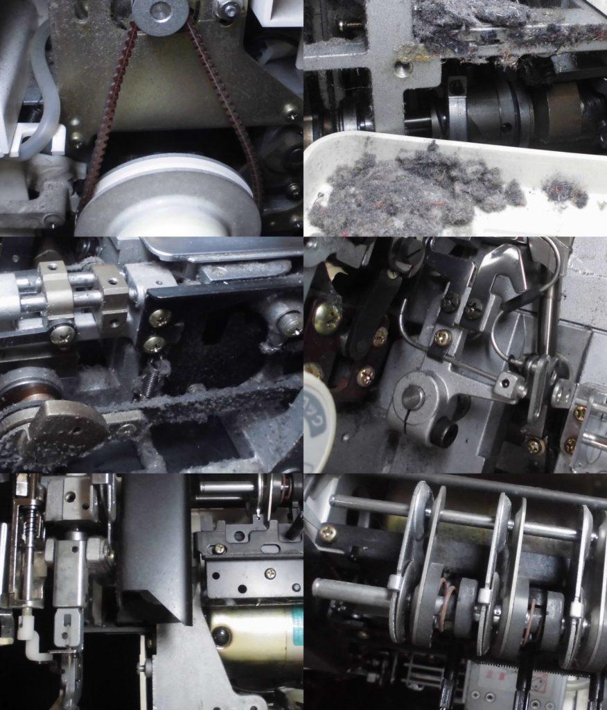 衣縫人の分解オーバーホールメンテナンス修理|ロックミシン|babylock