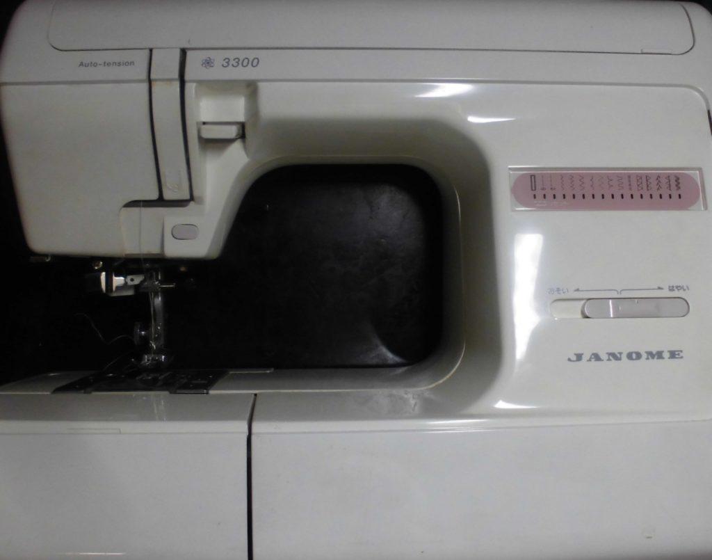 ジャノメ3300ミシン修理|縫えない、動かない、糸調子不良、異音など