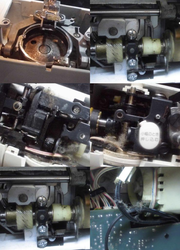 ZZ3-B590の故障や不具合 縫えない、糸調子不良、綺麗に縫えない、糸が絡まるなど