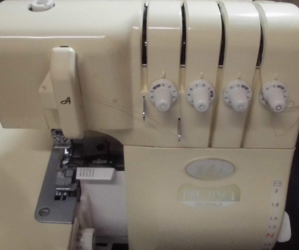 文化学園ミシン修理|衣縫人|プロライン4ブンカ|動かない|はずみ車が固い