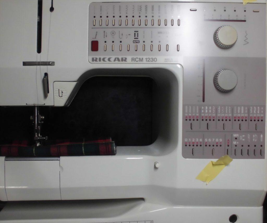 リッカーミシン修理|RCM1230|BERNINA製|糸調子不良(糸が切れる、糸調子が合わない)