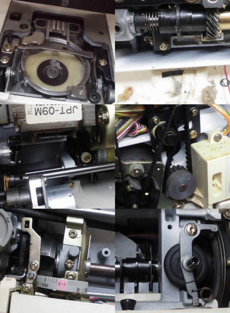 SensorCraft7300の故障や不具合 異音、糸絡み、糸調子不良、下糸が巻けないなど