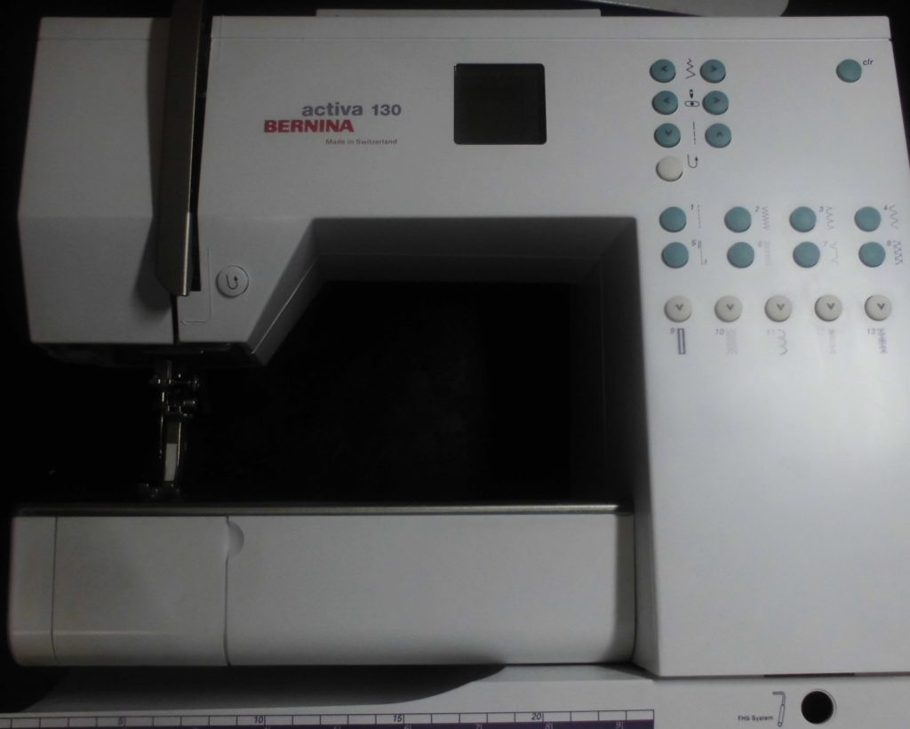 ベルニナミシン修理|アクティバ130|縫えない、糸が絡まる、布を送らない