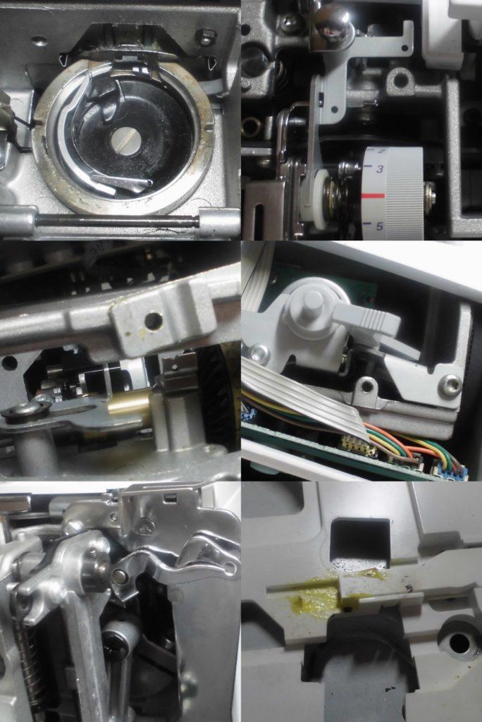 activa130の全体オーバーホールメンテナンス修理|ベルニナミシン修理