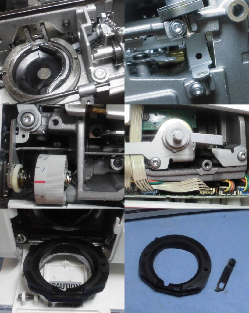 BERNINA160の全体オーバーホールメンテナンス修理|ベルニナミシン