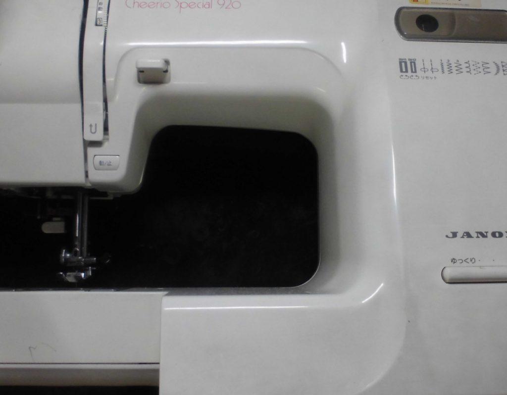 ジャノメミシン修理|チェリオスペシャル920|返し縫いしない、布を送らない