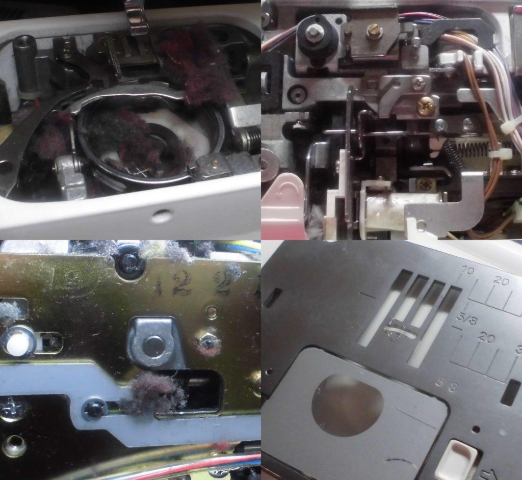 HZL-009の故障や不具合 糸調子が悪く綺麗に縫えない、糸絡み、押え圧力調節