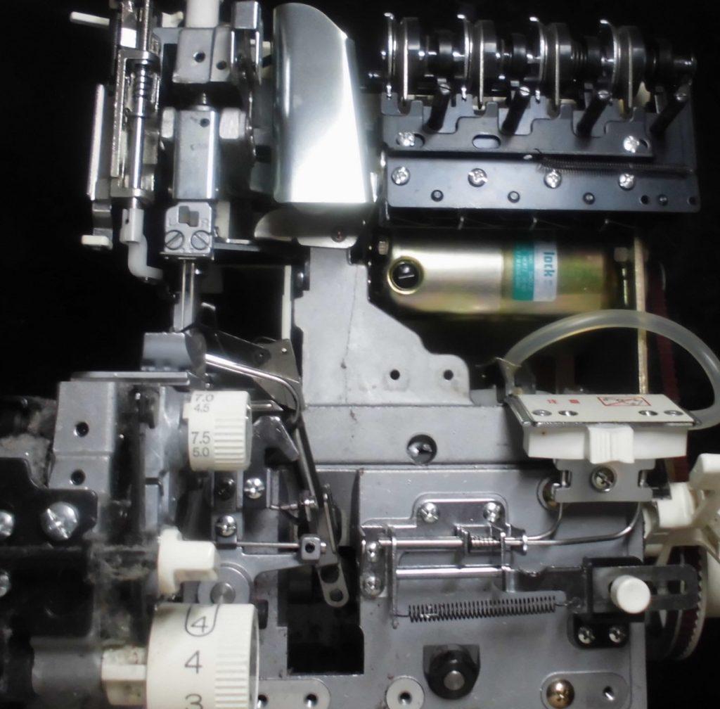 衣縫人の分解オーバーホールメンテナンス修理|babylockミシン((株)ジューキ))