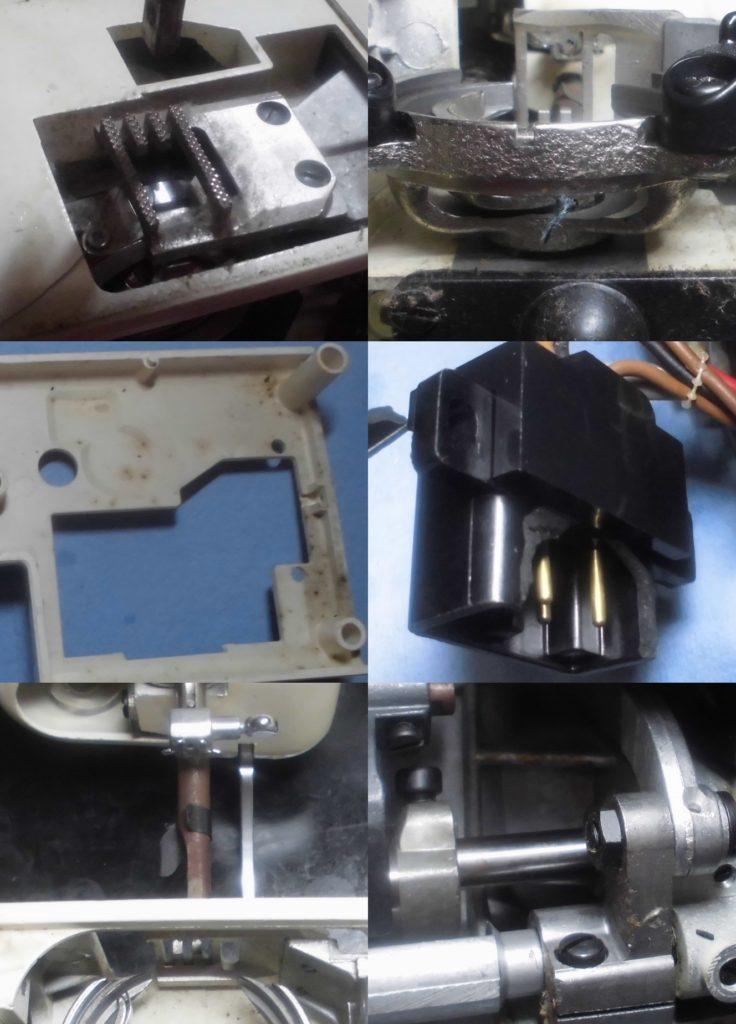 JAGUAR MATE F-3の分解オーバーホールメンテナンス修理|JAGUARミシン(丸善ミシン)
