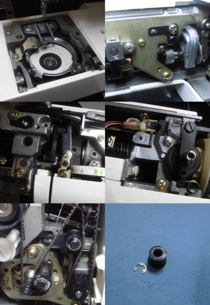 ジャノメβ5300の全体メンテナンス修理|JANOMEミシン修理