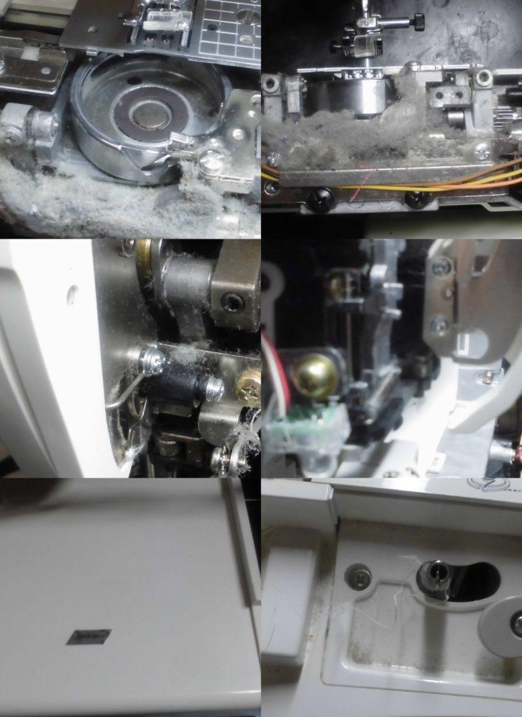 M-6000(CPS52)の故障や不具合 異音がして縫えない、自動糸通し不良、糸調子不良