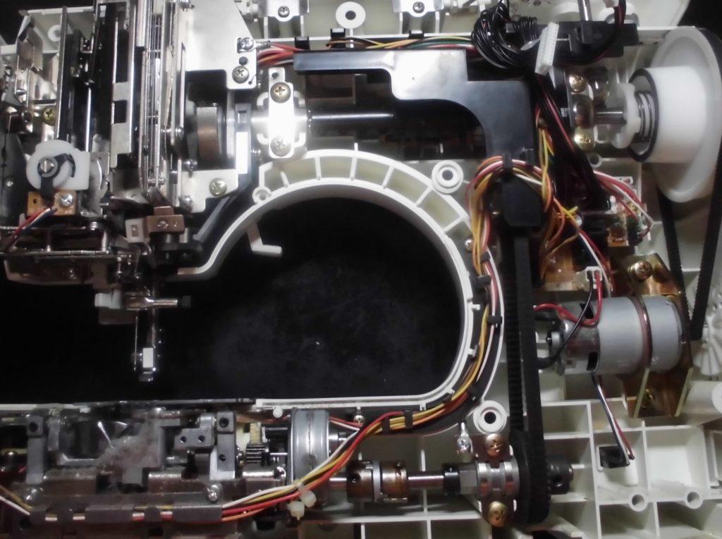 P100の分解オーバーホールメンテナンス修理|ブラザーミシン