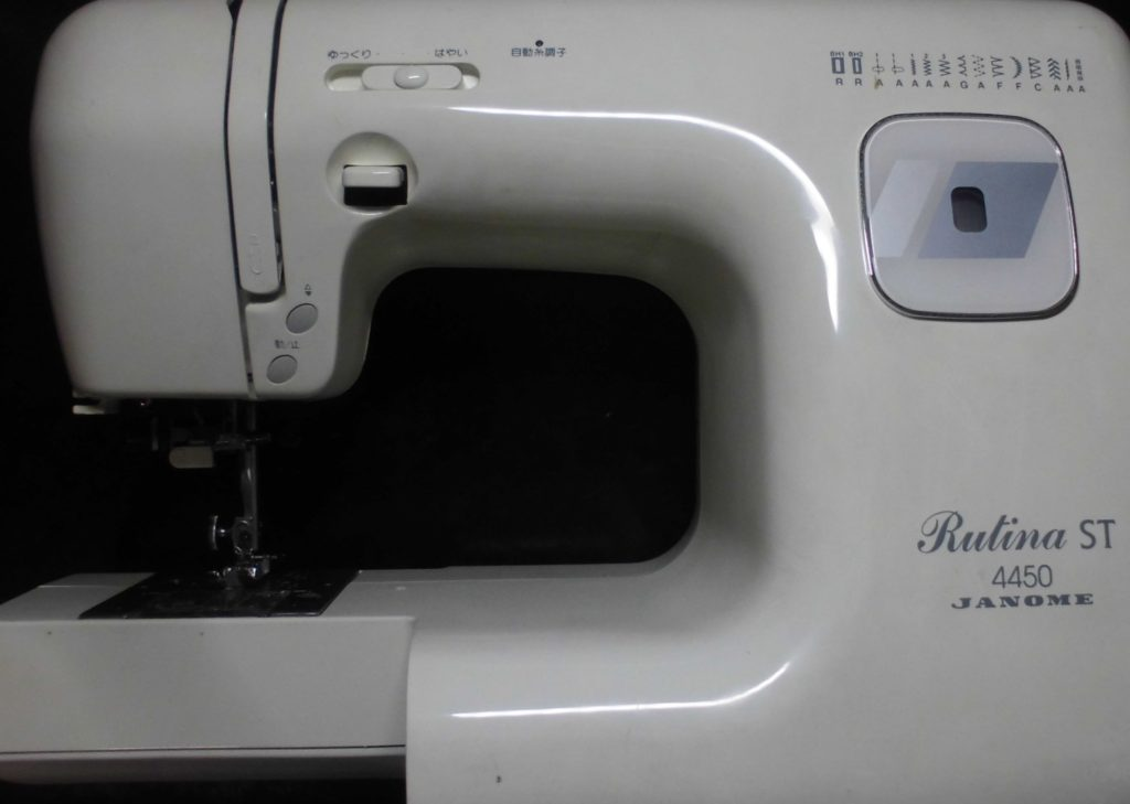 ジャノメミシン修理|RutinaST4450|動かない、はずみ車が重い、縫えない