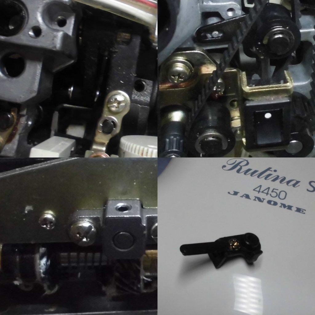 RutinaST4450の全体オーバーホールメンテナンス修理|JANOMEミシン