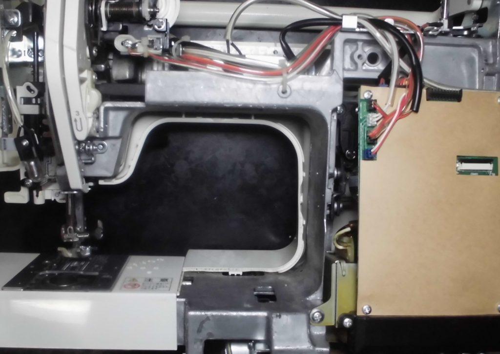 シェーネⅡの分解オーバーホールメンテナンス修理|JANOMEミシン修理