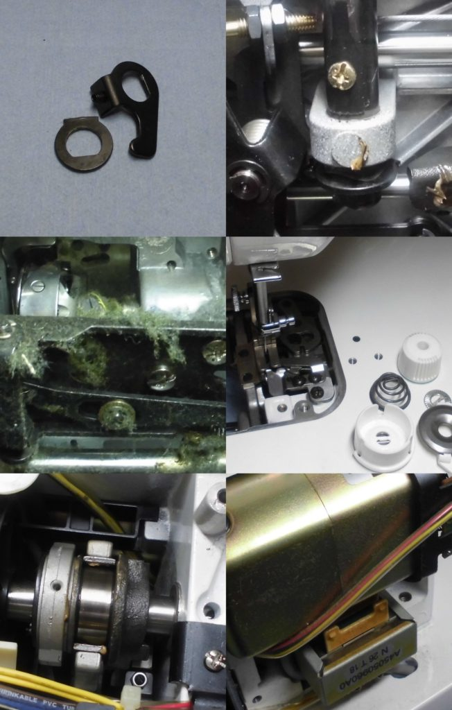 シュプール98スペシャルの分解オーバーホールメンテナンス修理|JUKIミシン